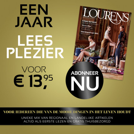Jaarabonnement op Lourens Magazine.