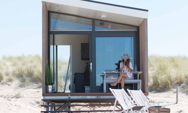 Ultieme beachvakantie: strandhuisje in Kijkduin