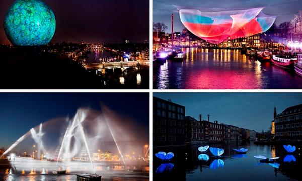 Amsterdam Light Festival viert jubileum met hoogtepunten uit de vorige edities
