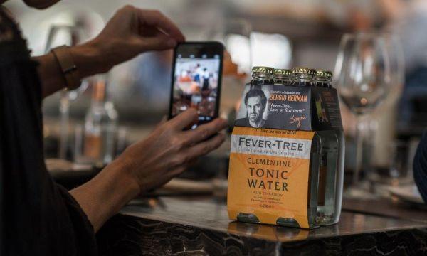 Sergio Herman en Fever-Tree lanceren tonic