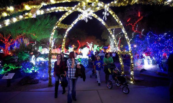Magische feestdagen in Las Vegas