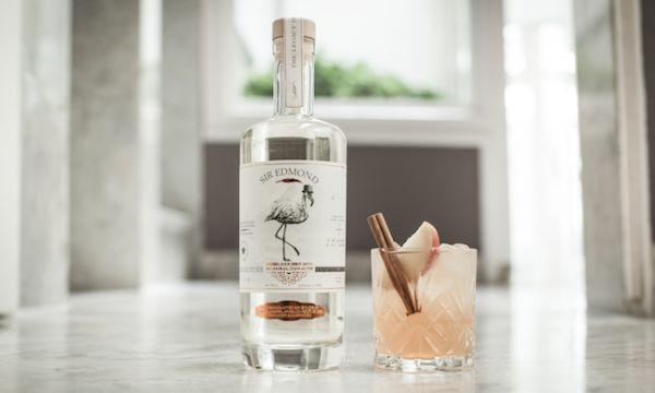 Sir Edmond brengt 's werelds eerste vanille gin