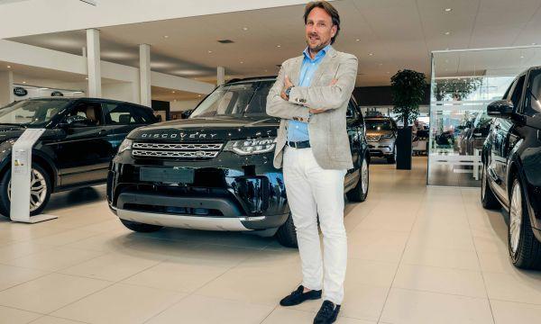 Van Mossel Jaguar Land Rover blij met Apeldoorn