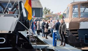 Super Lauwersmeer bootshow op de werf