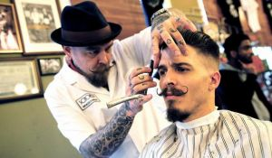 Hipsterbaard helpt kappersbranche uit de crisis