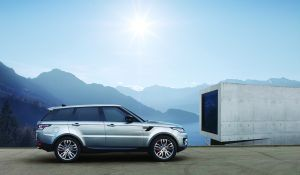 Lichtere motor voor Range Rover Sport