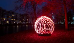 Wandelroute Amsterdam Light Festival geopend