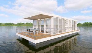 Jan des Bouvrie tekent mee aan exclusieve houseboat