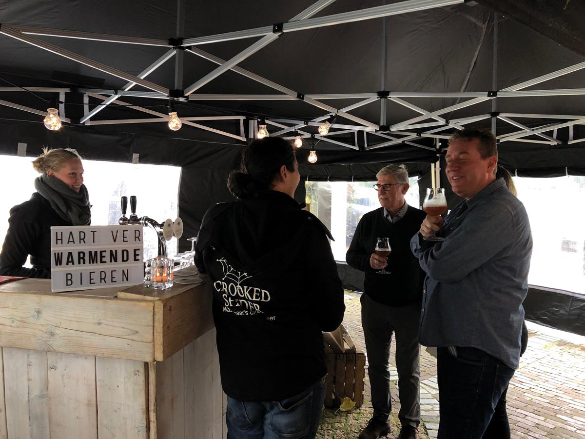 Luxury Event Landgoed Tespelduyn Crooked Spider Bier