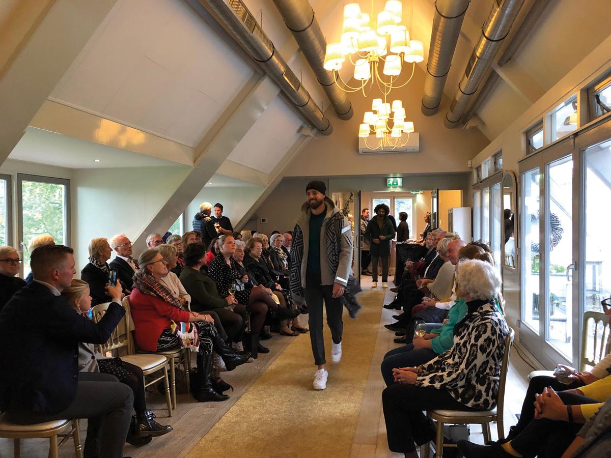 Luxury Event Landgoed Tespelduyn modeshow
