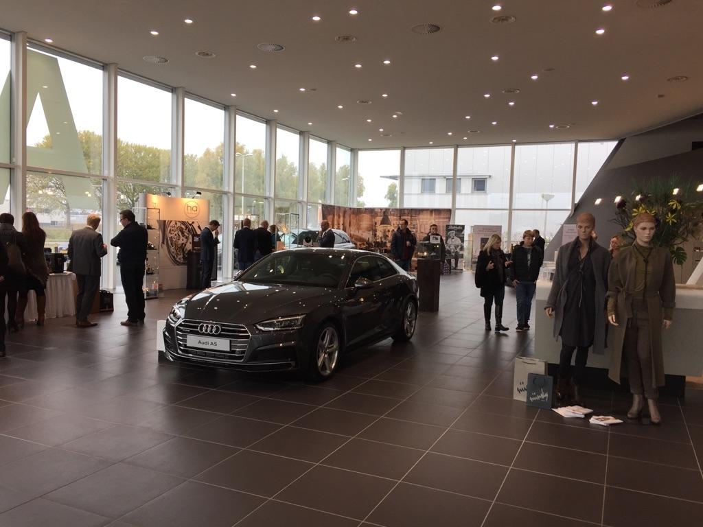 Sfeerimpressie van ons luxury event bij Audi Bourguignon te Leeuwarden