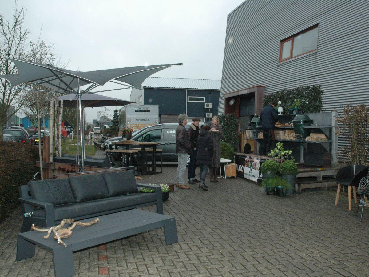 Een sfeerimpressie van ons luxury event bij Werpsterhoeke Tuinmeubelen te Grou