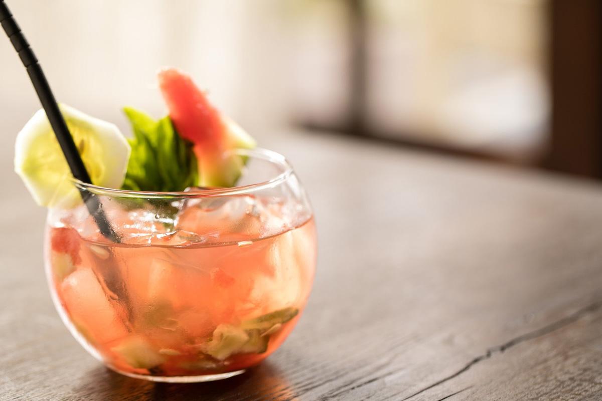 Mocktail-Watermelon-di-Basil-Lourens Magazine