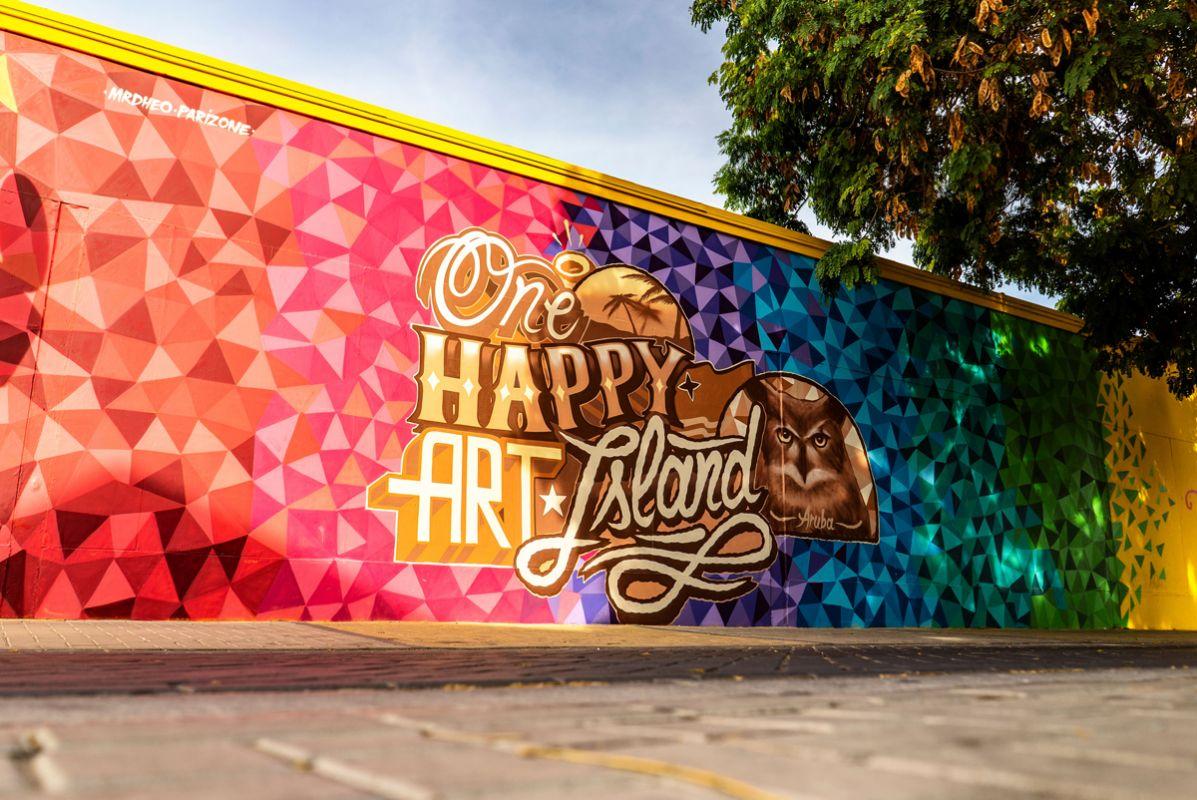 One Happy Art Island Aruba Happy Lourens Magazine